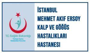 Referanslar İstanbul Mehmet Akif Ersoy Kalp ve Göğüs Hastalıkları Hastanesi Logo
